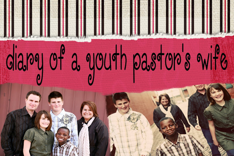 Diary of a Youth Pastor&#39;s Wife