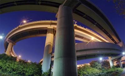 amazing pics the breath taking highway bridges of japan. Black Bedroom Furniture Sets. Home Design Ideas