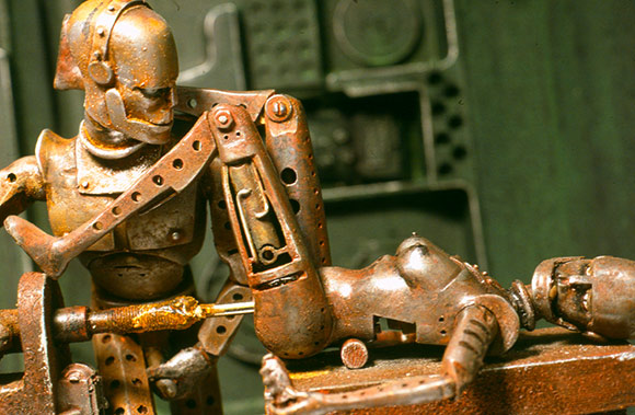 The word robot can refer to both physical robots and virtual software agents ...