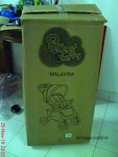 My Baby Pinky Stroller...