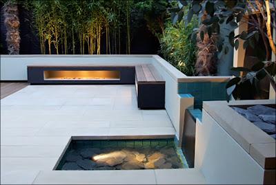 Minimalist Design Home on House Design  Natural Garden Backyard Landscape Design  Minimalist