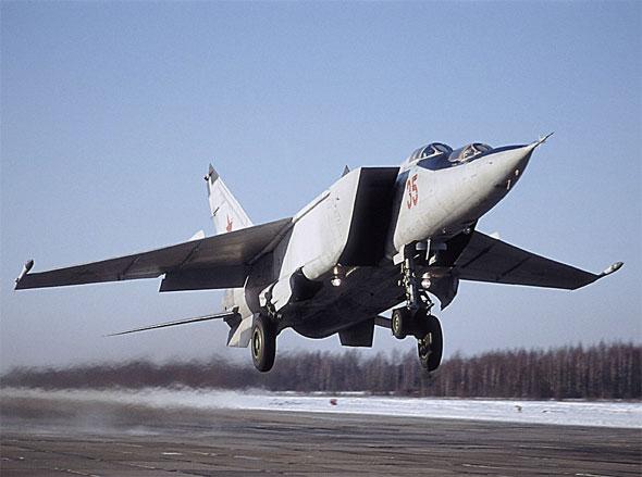 MiG-25 Foxbat (Ye-155)