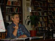 Teresa Meana Suárez en la ciudad de Lincoln el jueves 15 de abril