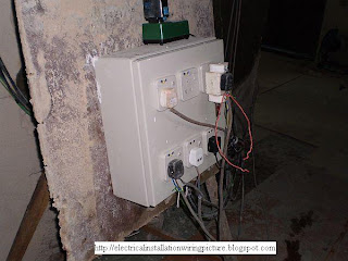 Temporary Electrical Panel Image 1
