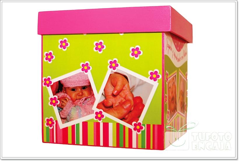 Tu foto en caja cajas cubos personalizadas for Cajas personalizadas con fotos