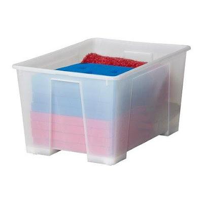 Draadjes en praatjes januari 2011 - Ikea scatole plastica trasparente ...
