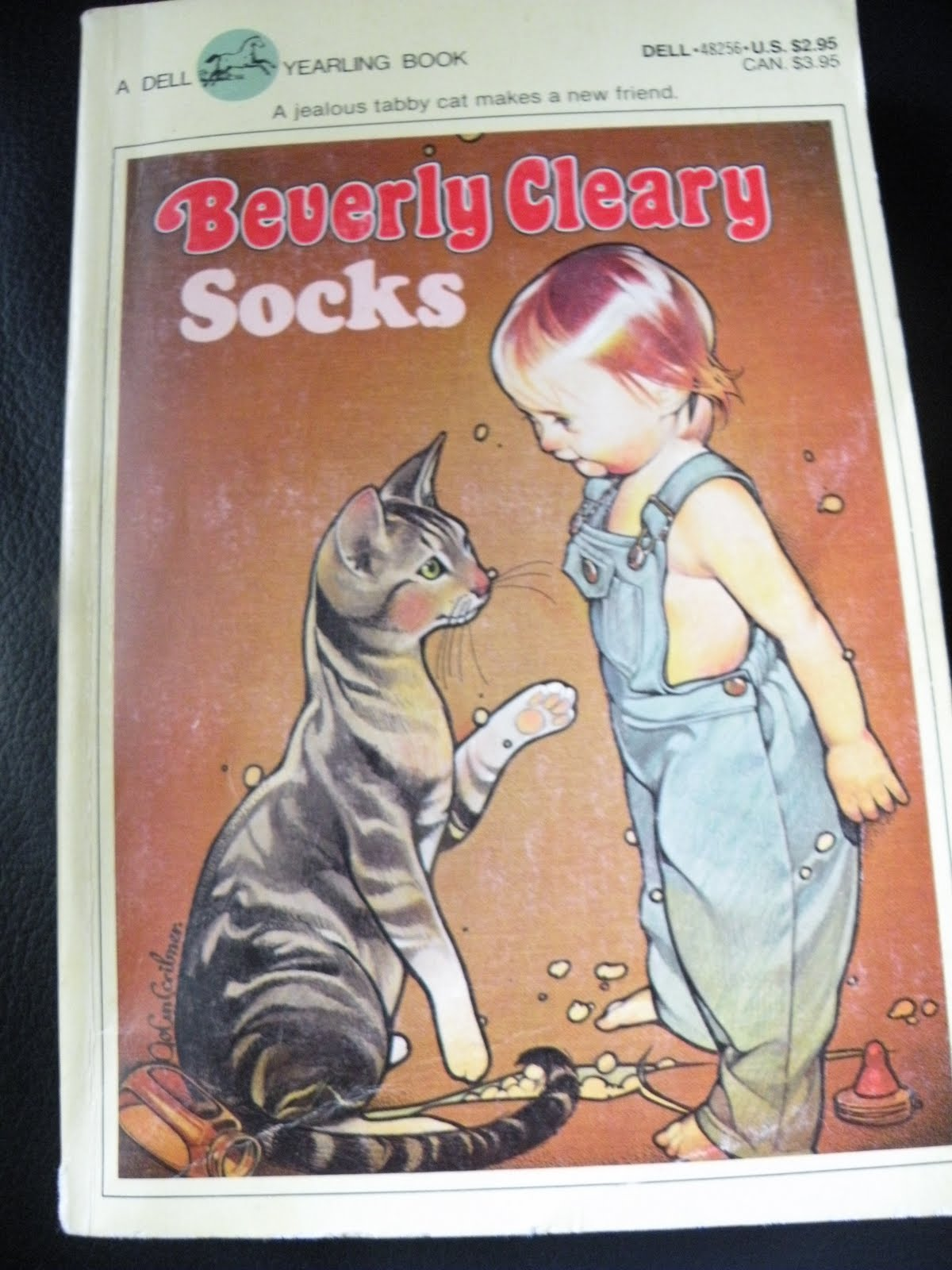 Socks by. Beverly Cleary... a classic, in my opinion. - The Fantastic Five: