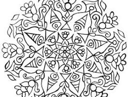 Eye Mandala Coloring Pages