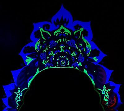 eye pop art black light groove part three muralicious