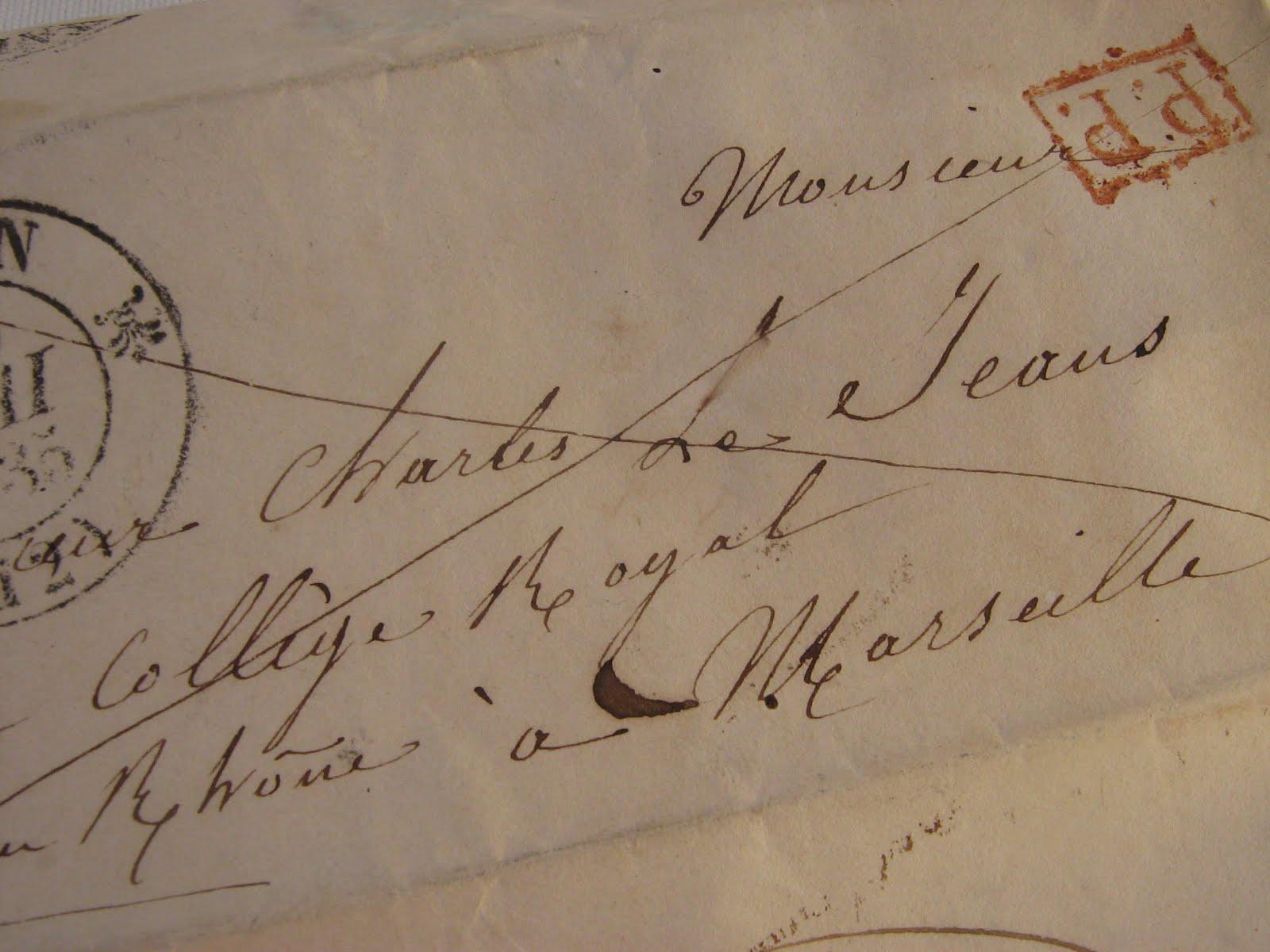 french handwriting so beauiful here