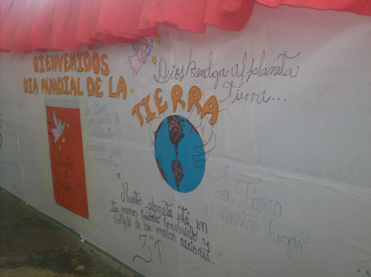 Día de la Tierra en el Liceo Bolivariano Camoruco