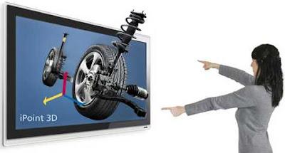 Tela 3D com iPoint 3D