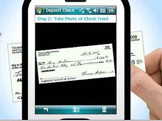 Deposito cheque pelo celular