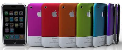 iPhone colorido