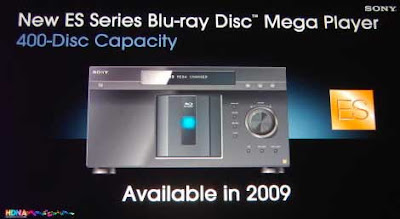 Mega Player Blu-Rays Sony