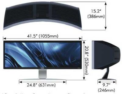 Supermonitor NEC ultrawidescreen