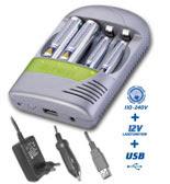 Carregador de baterias Varta Digital