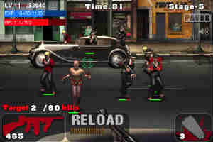 Game de tiro para iPhone Assault on Mafia