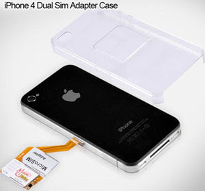 Dual SIM Card Adapter case