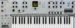 ButtonBeats Piano virtual