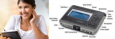 Intel Reader conversor de texto em voz