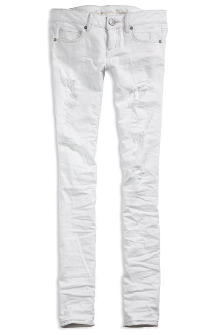 Nothing says spring like white pants
