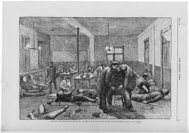 a history of the haymarket massacre in chicago Explore chicago's history with cpl's digital and archival collections, recommended books and blog posts find events on chicago history.
