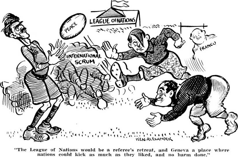 a history of the league of nations League of nations failures while the league of nations could celebrate its successes , the league had every reason to examine its failures and where it went wrong these failures, especially in the 1930's, cruelly exposed the weaknesses of the league of nations and played a part in the outbreak of world war two in 1939.