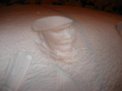 Amazing Snow Prints absolutely incredible
