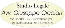 Avv.Giuseppe Cicciari