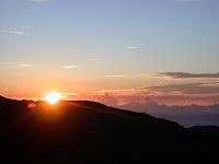 日出後的景緻