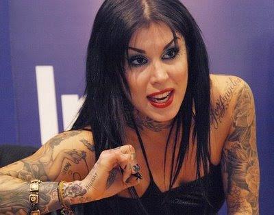 Tattoo Artist Kat Von D