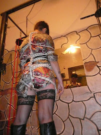Shibari o bondage oriental por presion