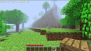 I had recently spawned in a new world in singleplayer Minecraft.