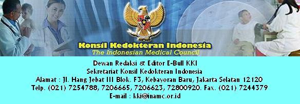 E-Bulletin Konsil Kedokteran Indonesia