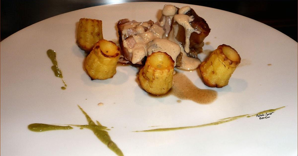 Lou paladar lepet jarret de veau sauce cheddar cannel s de pommes duchesses - Jarret de veau au four ...