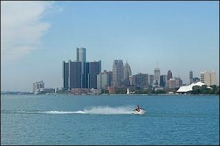 Detroit Skyline © Cornelia Schaible