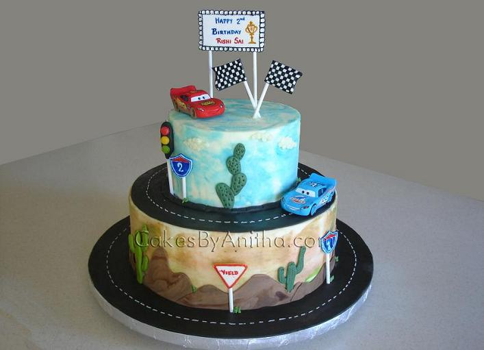Cakes by Anitha: Cars cake
