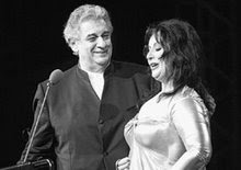Placido in Athens with Veronica Villaroel