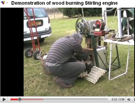 "**Una alternativa energética ""Stirling Motor"""