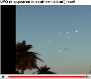 UFO (it appeared in southern island!) fear!!
