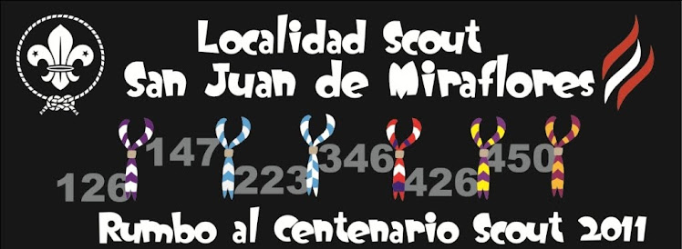 Localidad Scout San Juan de Miraflores