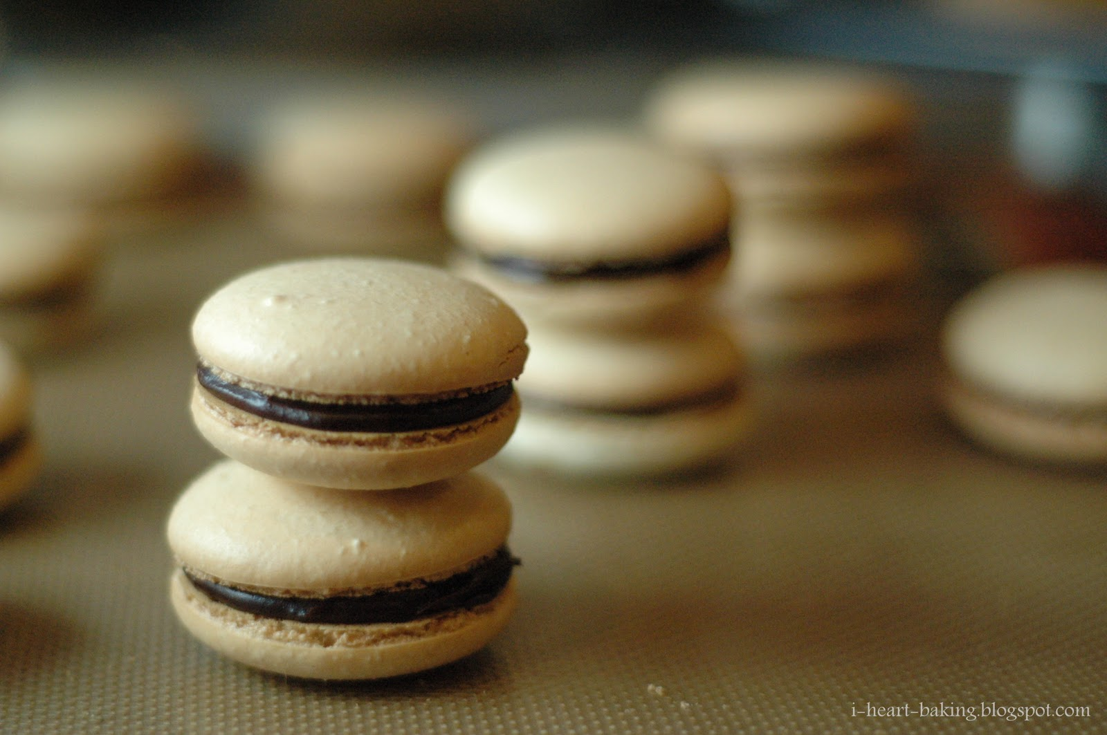 i heart baking!: french macarons