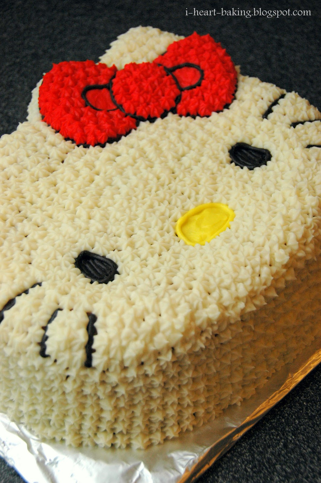 I Heart Baking Hello Kitty Birthday Cake For Melodie