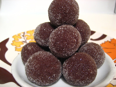 Dec 9, 2009 MAKE AHEAD: Store the rum balls with or without the sugar ...