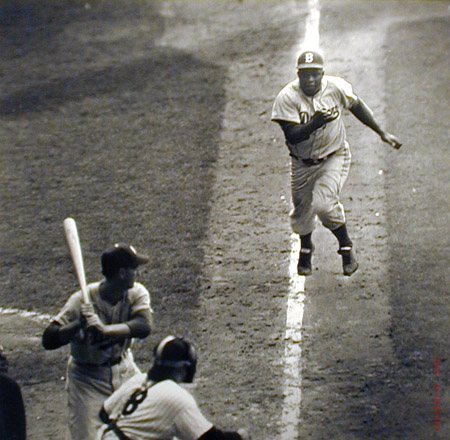 Jackie Robinson the First African-American Major League Baseball Player