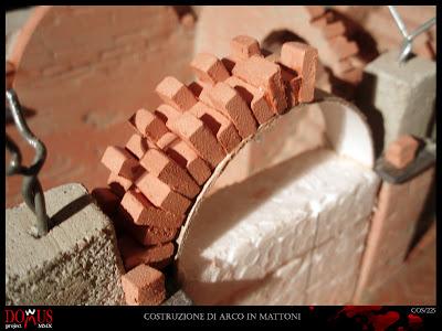 Domus project: costruzione 27: arcate in mattoni