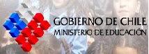 Página del Ministerio de Educación