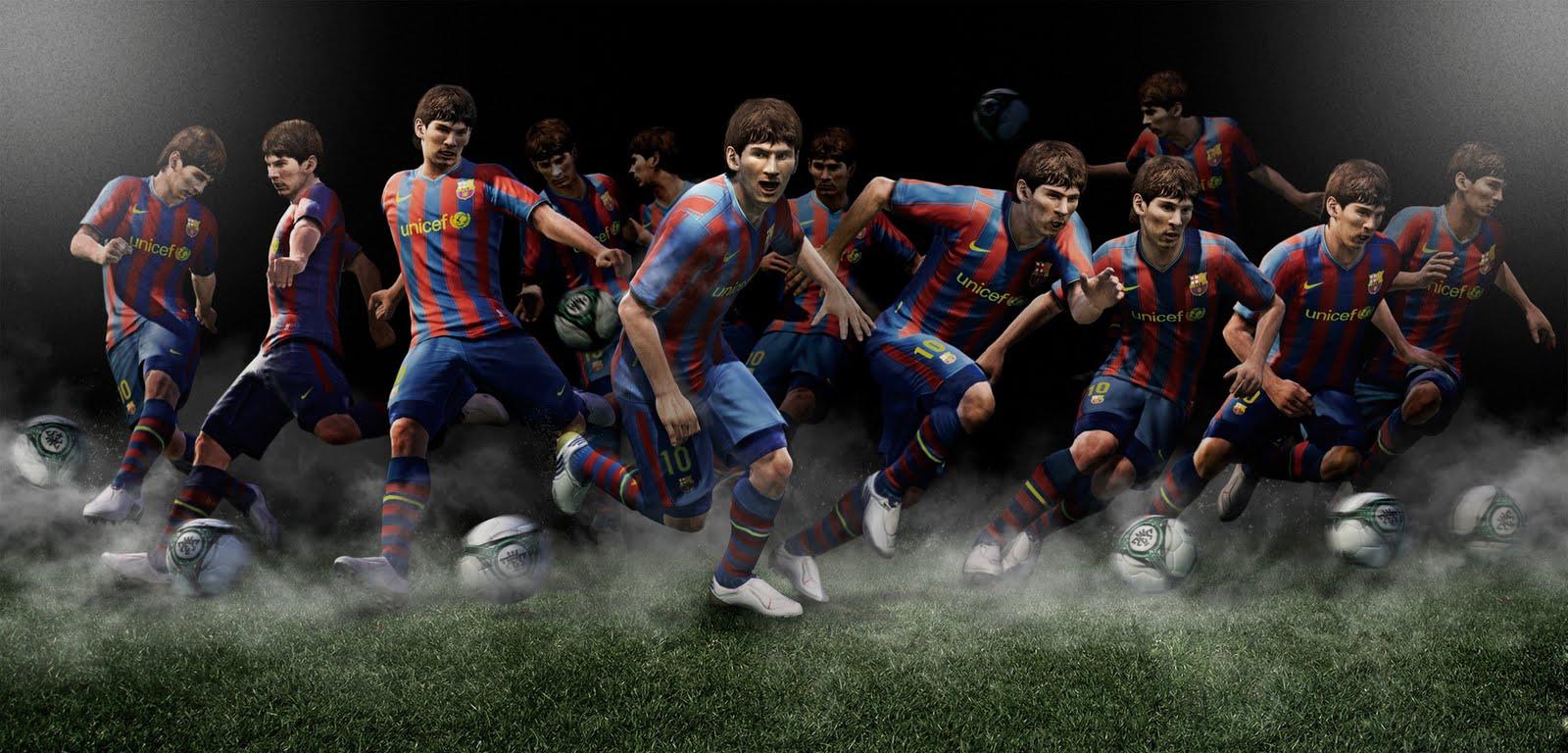 Полная свобода, тотальный футбол - Всё это в PES 2011!