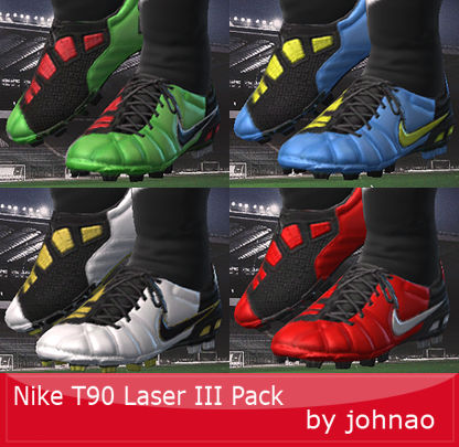 Pes 2010 - Nike T90 Laser III Boots Preview